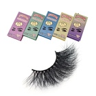 New Eyelashes Brand New Arrival 25mm Mink Eyelashes Long 25mm Lashes 25mm Mink Eyelashes Private Label Own Brand China Vendor