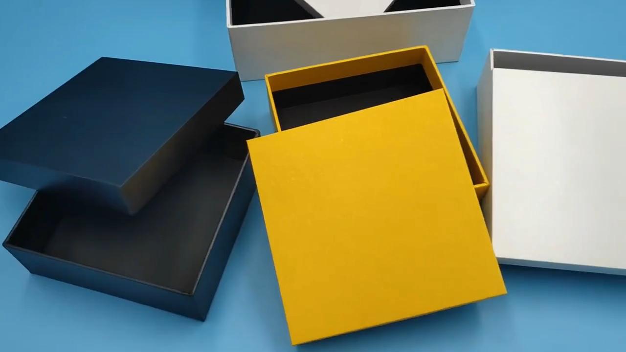 Giftboxes luxo Atacado Personalizado Impresso Papelão Rígido Vazio Caixas de Embalagens de Presente Caixa de Presente de Papel Com O Logotipo