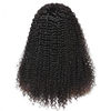 Wholesale 13*6 lace front wigs Indian human virgin hair unprocessed afro kinky curl frontal wigs pre plucked factory price