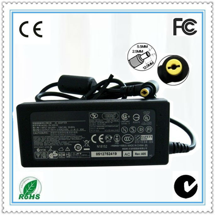 18.5v 3.5a 65w with dc 4.8*1.7mm high quality computer charger for HP