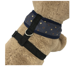 Lovable Dog Car Safety Harness 100% Cotton Dog Harness Chest Belt For Dog
