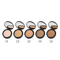 High Quality Cosmetic Foundation Waterproof Single Bronzer 5 Colors Face Contour Pressed Powder Private Label