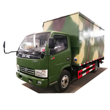 2020 Longwin Dongfeng 4x2 mini kühlwagen und lebensmittel <span class=keywords><strong>transport</strong></span> cargo-box lkw
