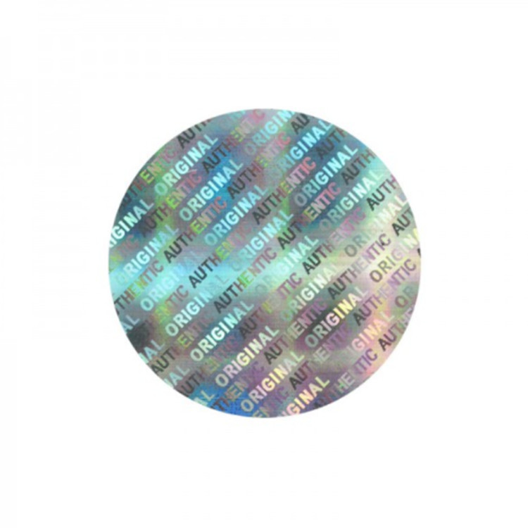 Custom Holographic Hologram Stickers Label for Vials, Adhesive Laser Sticker Reflection Rainbow Holographic Label