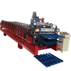 Professional Roof tile Forming Machine with box trapezoidal model roof machine