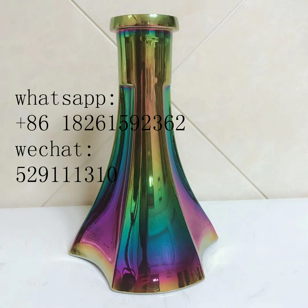 Russian replaced hookah stem,hookah vase customized stainless steel hookah stem kit