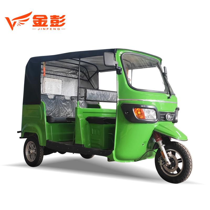 Populer Populer Sepeda Roda Tiga Electrique Taksi 7 Kursi Roda Tiga Electriqu Listrik Becak untuk Afrika Bajaj Sepeda Motor Roda Tiga untuk Penumpang