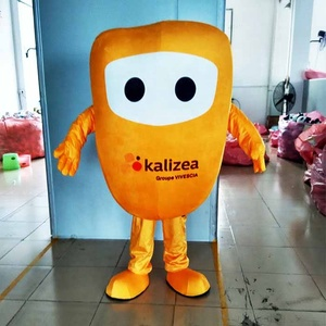 Enjoyment CE adult corn mascot costume for event, plush fabric corn costume