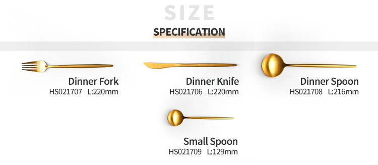 product-Wholesale Restaurant Cutlery, Gold cutlery Sets, Stainless Steel Flatware for Wedding Hotel -1