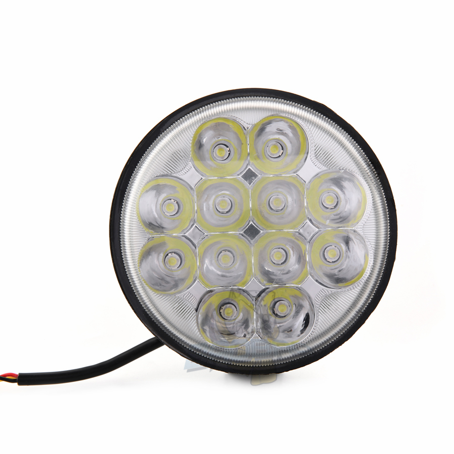 BB266 White color High Low beam led work light from BAOBAO LIGHTING