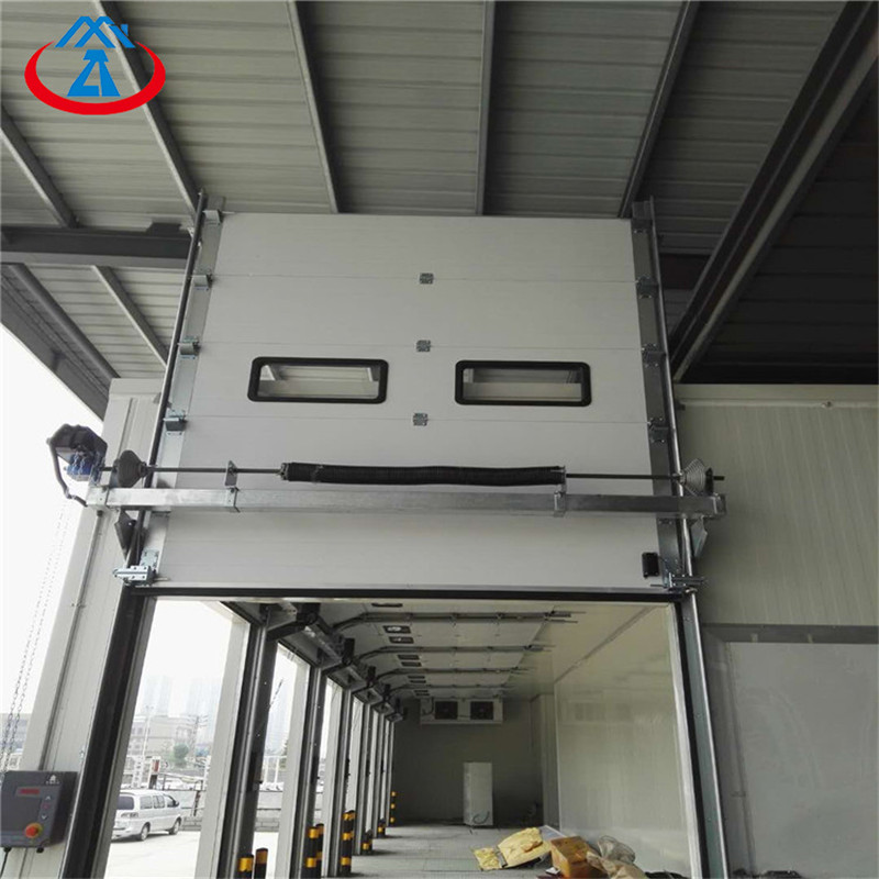 product-Zhongtai-W2500H3000mm China Automatic Industrial Lift Sectional Steel Door-img