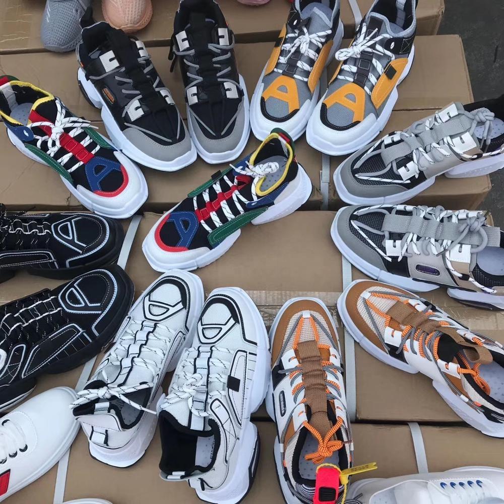 GZY 2017 latest design best quality sportswear stock shoes wholesale