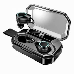 New Hand Free True Stereo Sport Earphones Waterproof TWS 5.0 In-ear Wireless Earphone