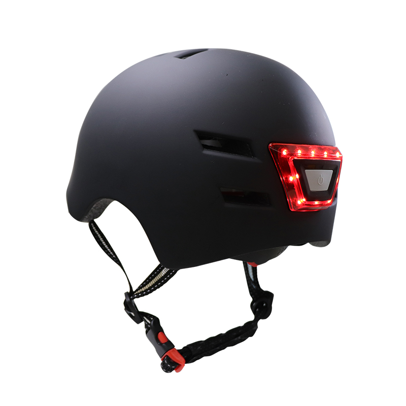 Scooter Helmet For M365 /Max G30 /ES1/2/4  Scooter Safety Helmet with LED Warning Light Flash Riding Helmet