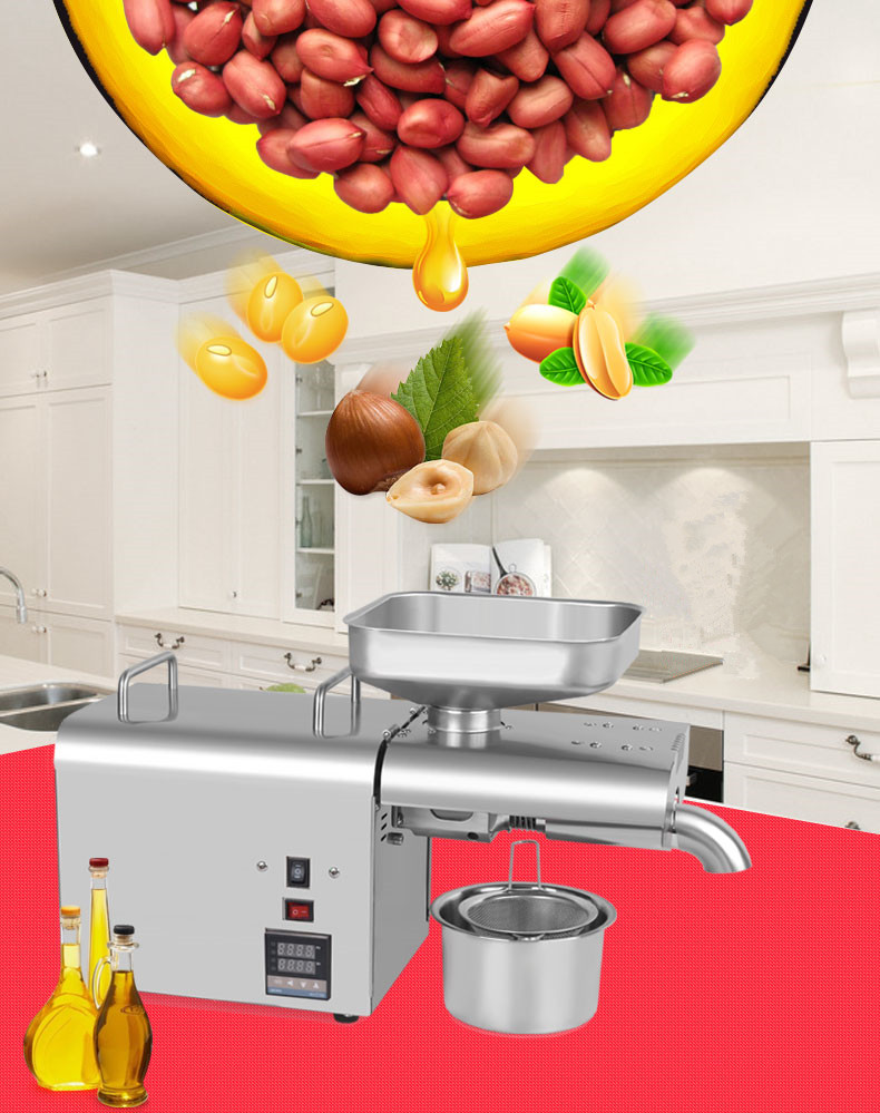 Cheap wholesale soybean palm coconut cooking oil presser in thailand