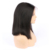 Hot sale real natural 100% human hair wig,brazilian virgin lace front short bob human hair wig