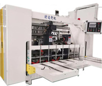 CD2000 semi-automatic double head high speed stitching machine nailing machine stitcher for corrugated carton box cartonboard