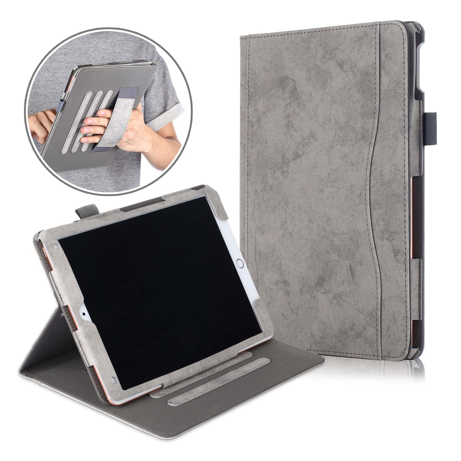 PU leather tablet cover case for <strong>ipad</strong> 10.2 10.5 Inch 2019