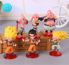 Hot Koop Anime <span class=keywords><strong>Dragon</strong></span> <span class=keywords><strong>Ball</strong></span> <span class=keywords><strong>Z</strong></span> Super Saiyan Goku Action Figures Speelgoed