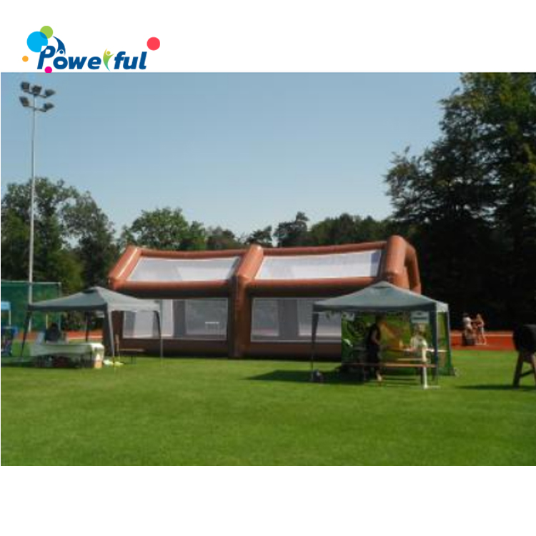 Portable Inflatable Speed Cages Game PVC Baseball Batting Cage Netting