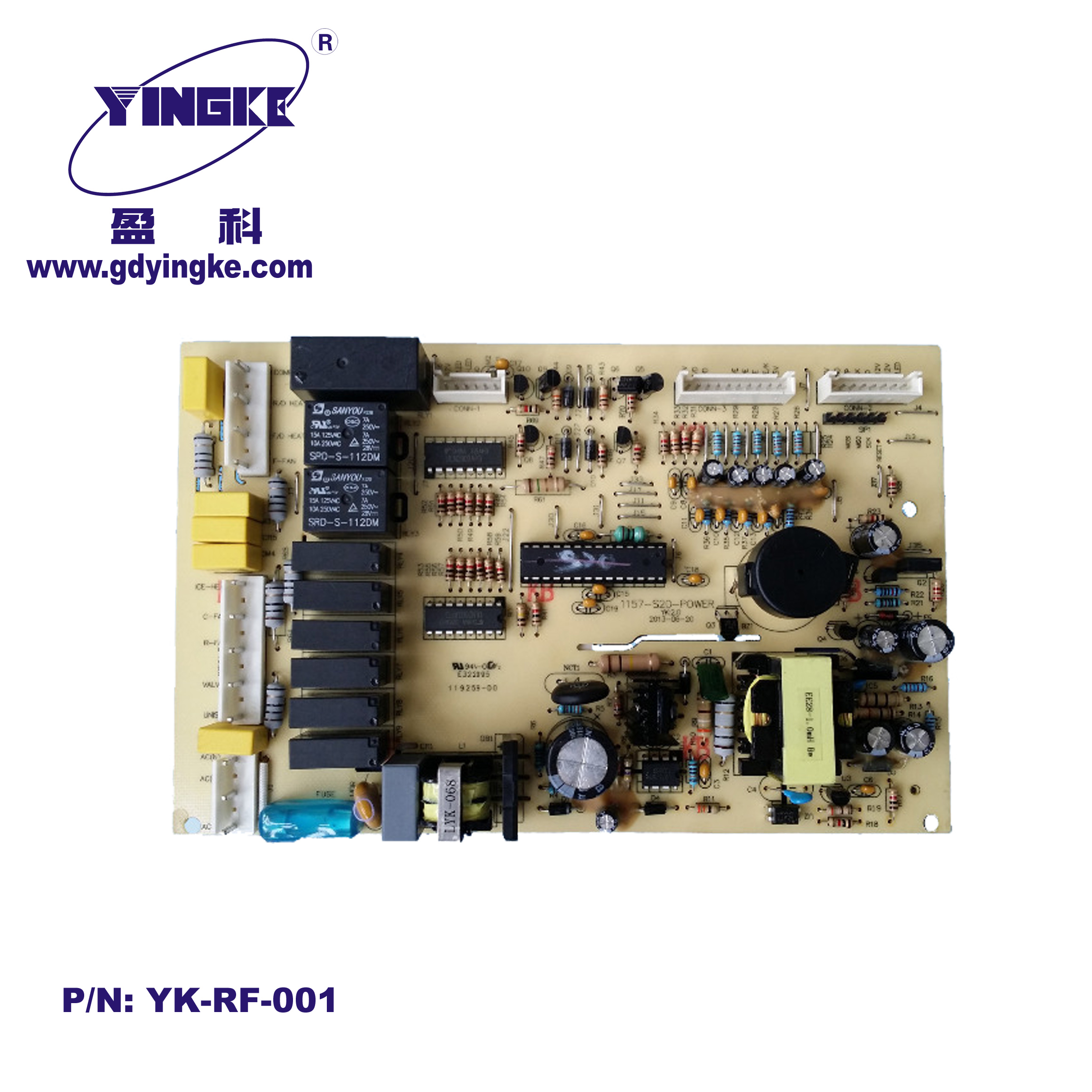 Refrigerator and Freezer pcba control board  circuit board factory hot sale 2015