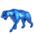 Home Decoration Visual Merchandising Geometric Resin Animal Leopard Figurines Statue