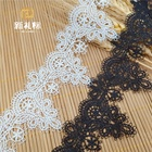 Guangzhou new decorative multicolor lace embroidery lace decoration wholesale