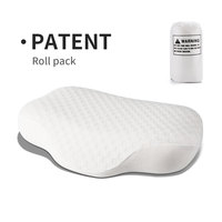 Lianda Patent New Hotsale Cervical Traction Ventilated Headrest Sleep Pillow White Memory Foam Pillow For Adult