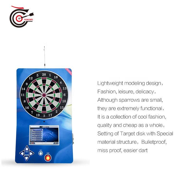 2020 manufacturer supplied international standard coin operated soft tip electronic dart machine