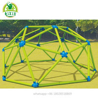 Climbing dome play set kids outdoor playground space climber equipment(QX-094B)