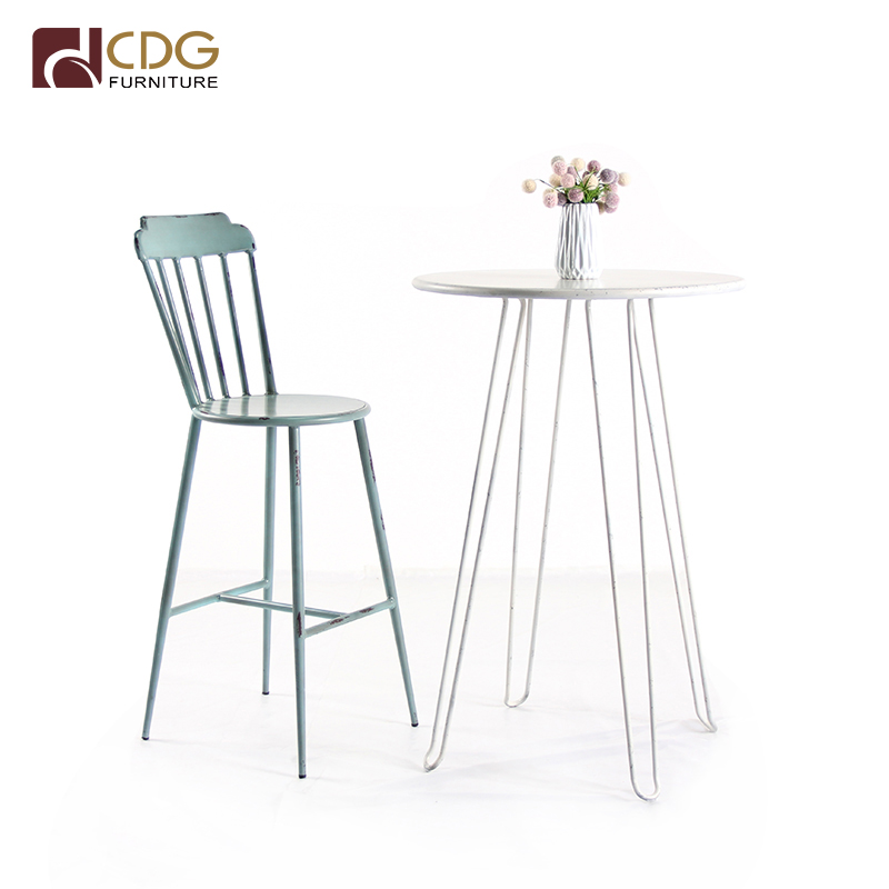 Best Price High Table Furniture Antique Table Barstool Chair Set <strong>Bar</strong> And Pub Table