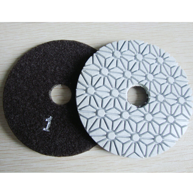 4 inch Diamond Polishing Pads Wet//Dry Granite Marble Stone Quartz Concrete