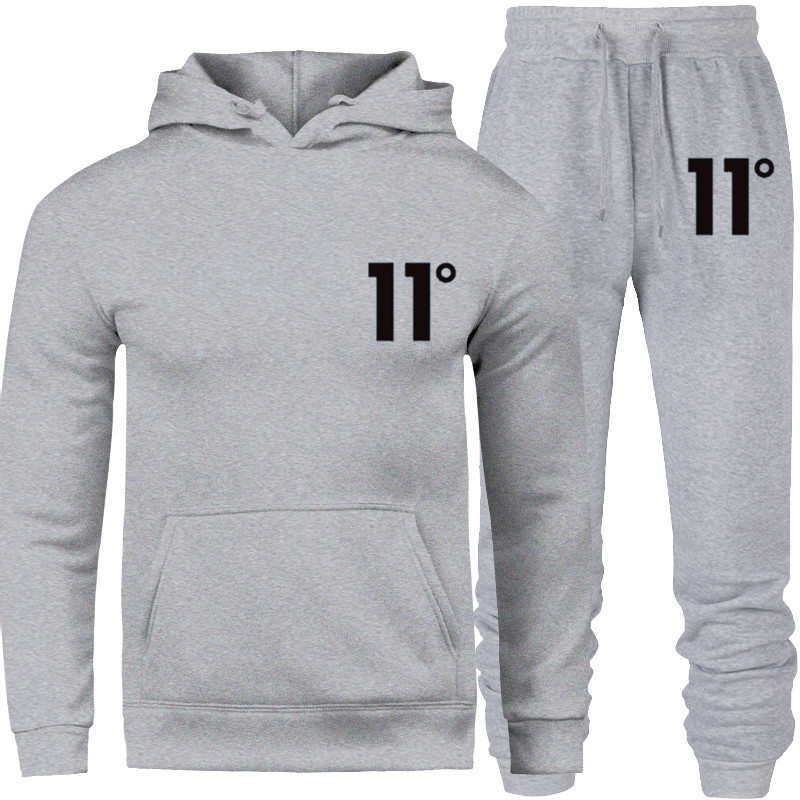 Sportswear Tracksuit Sets Men  Thermal Underwear Fleece Thick Sporting Suit New Brand