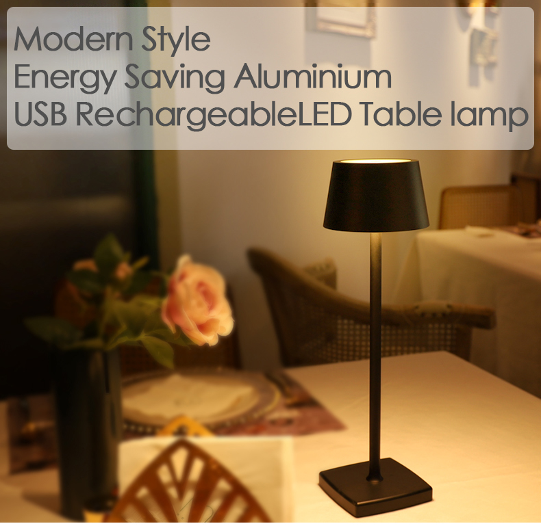 poldina lamp, hotel table lamp, rechargeable table lamp, zafferano lampes, touch dimming table lamp