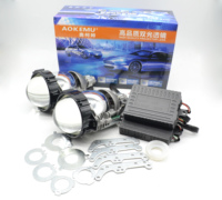 factory wholesale 3.0 Bi led projector lens headlight high power hi low beam led H4 projector kit