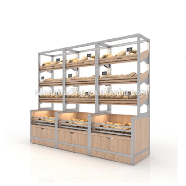 חם למכור זכוכית מאפיית תצוגת דלפקי ארונות עבור לחם חנות wisda תצוגה
