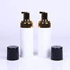 150ml gold foam spray bottle, man face wash bottle