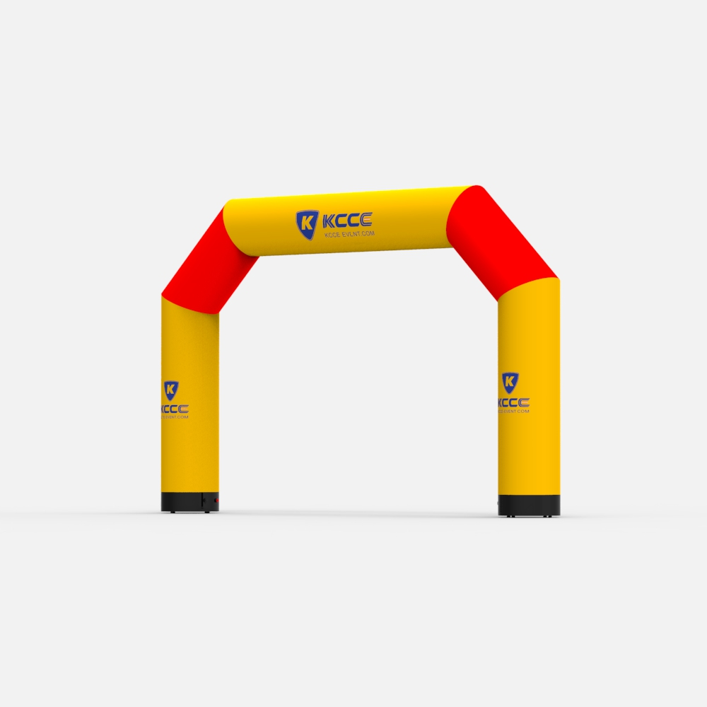 Air sealed double layers Inflatable sports event celebration arch, Inflatable racing start finishing line arch//