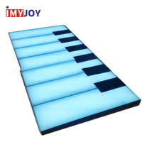 Cheap interactive game led lighting interactive giant piano