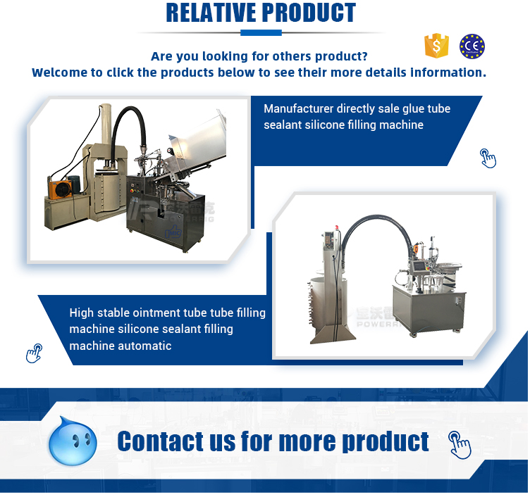 High quality ointment filling machine tube filler and sealer aluminium tube filling sealing machine