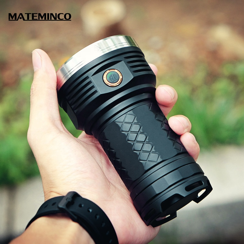 Mateminco MT18 12000 Lumens 18*Cree XPG3 Hot Sale Emergency Marine Camping Led Flashlight