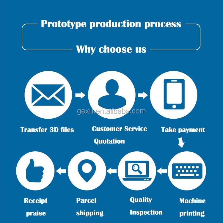 Druck prototyp hersteller, spielzeug probe prototypen zu anpassen 3D druck prototypen