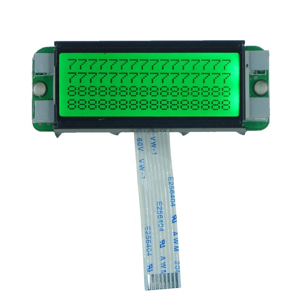 TCC small 1604 monochrome module 8pin I2C 16x4 spi character lcd display