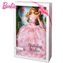 Оригинальный бренд Барби, 60-й день рождения, праздник, платье, кукла, красивая принцесса, куклы, Новорожденные, Детские Подарочные игрушки, ...(Китай)