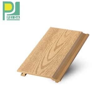 Guangzhou Wood plastic Composite Wall Panel Granules WPC Cladding