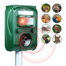GH-501 Ultrasonic pest repeller lagarto morcego macaco animal repelente pombo solares <span class=keywords><strong>ultra-sônica</strong></span>