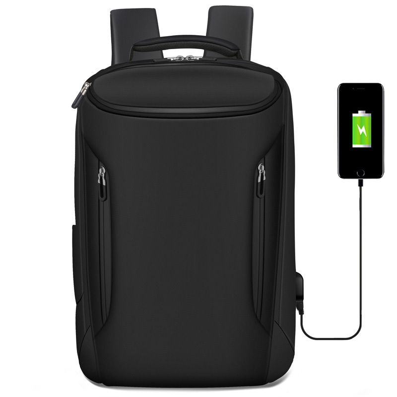 "Multifunctional Backpacks Waterproof for Travel and Business Trips Bag Larger Capacity Daypack 16"" USB Charging Laptop Bag"