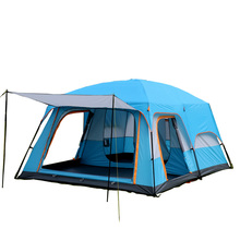 Outdoor Luxe 4-6 Persoon Grote Familie Waterdichte Opvouwbare Wandelen Camping Tent