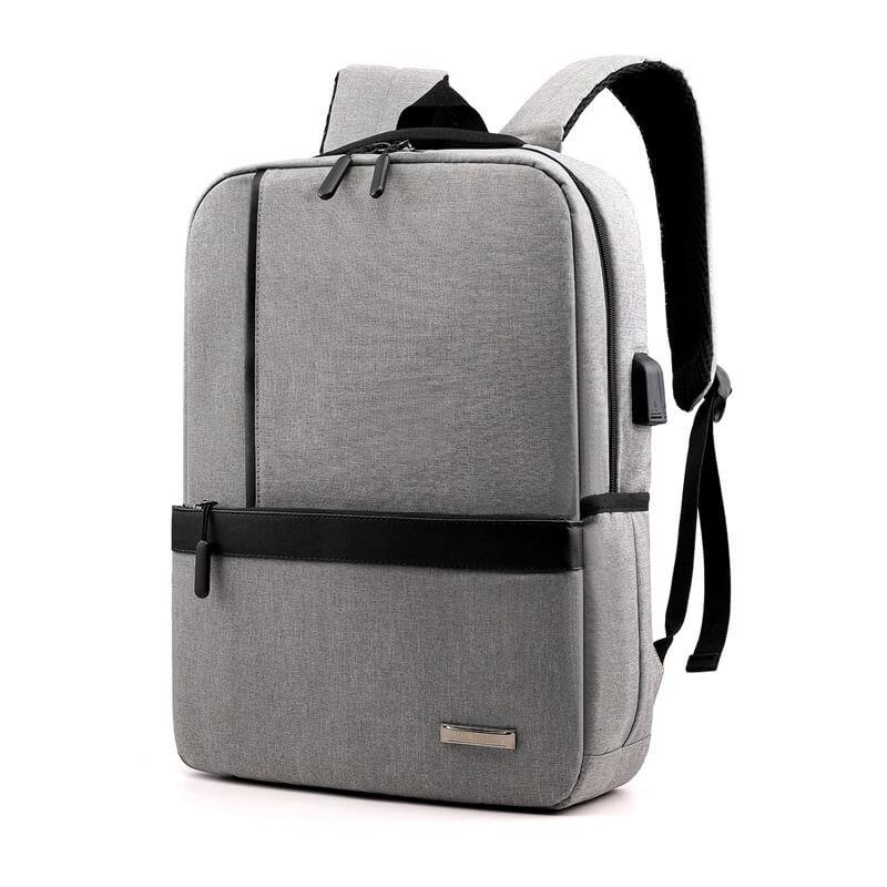 Y0178 Wholesale simple waterproof nylon usb back pack laptop backpack bags