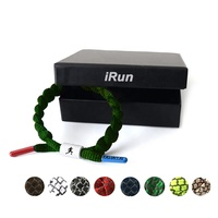 iRun Custom Shoe laces rastaclat bracelet custom gift packaging recycled paper box